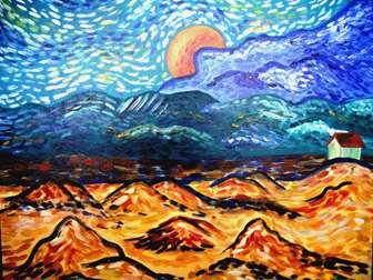 Van Gogh's Moonrise