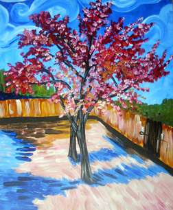 Van Goghs Peach Trees in Bloom