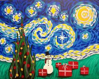 Van Gogh's Starry Christmas