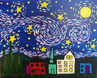 Van Gogh's Starry Night - Kids Edition