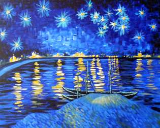 Van Gogh's Starry Night Over the Rhone