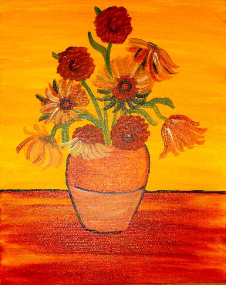 Van Gogh's Sunflower - Sat, Apr 15 1PM at Princeton
