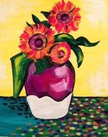 Van Gogh's Technicolor Sunflowers