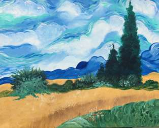 Van Gogh's Wheat Field
