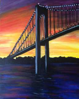 Verrazano Sunset