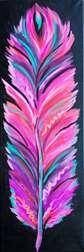Vibrant Feather