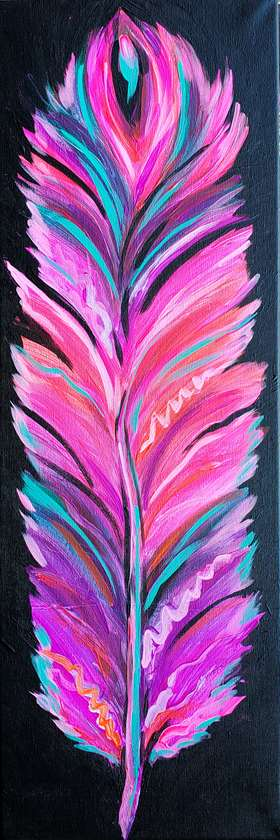 Vibrant Feather