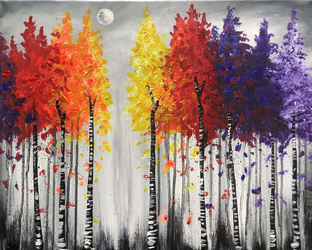 In-Studio event - Vibrant Forest - limited seating