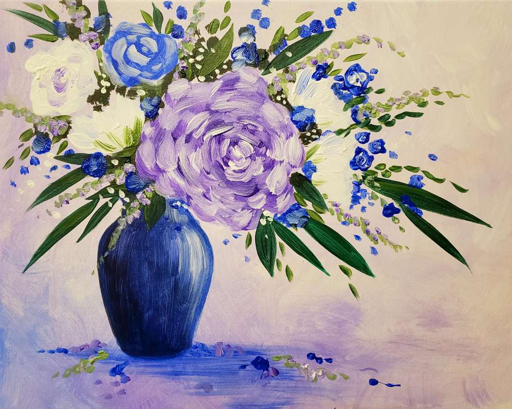 Vibrant Violets - In Studio Event - Limited Seating Available