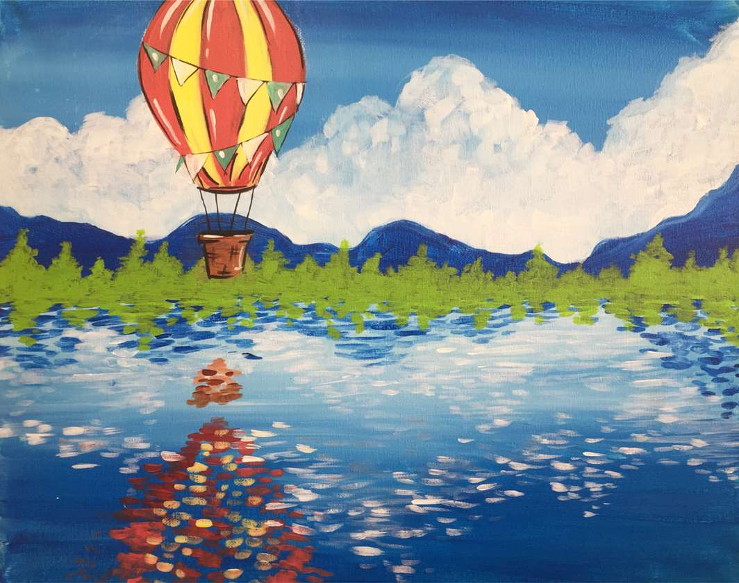 Vintage Balloon Ride