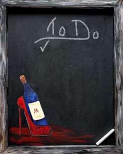 Vintage Me Chalkboard Craft