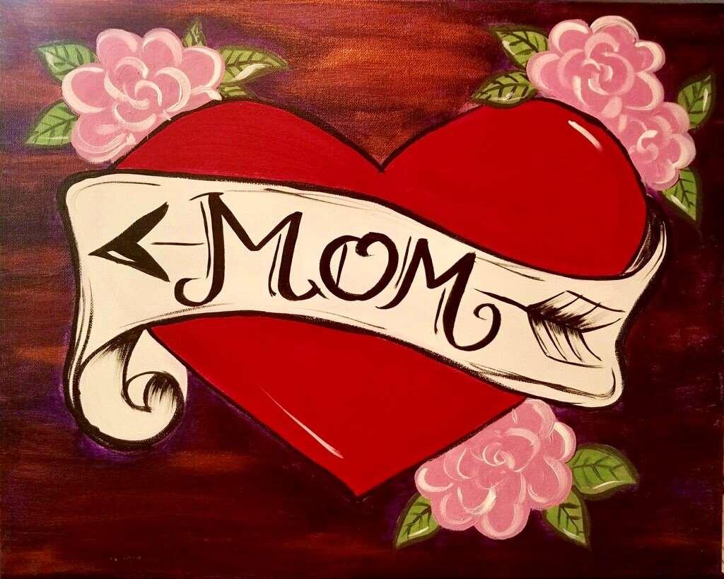 Vintage Mom Tattoo