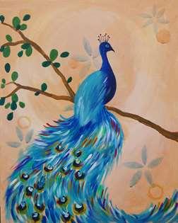 Vintage Peacock