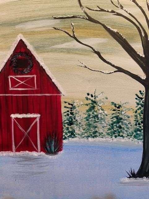 Vintage Red Barn