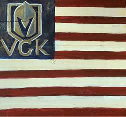 Vintage VGK Flag