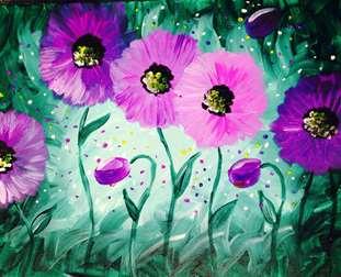 Violet Poppies