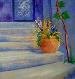 Violet Stairway
