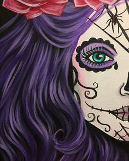 Violet Widow (Sugar Skull)