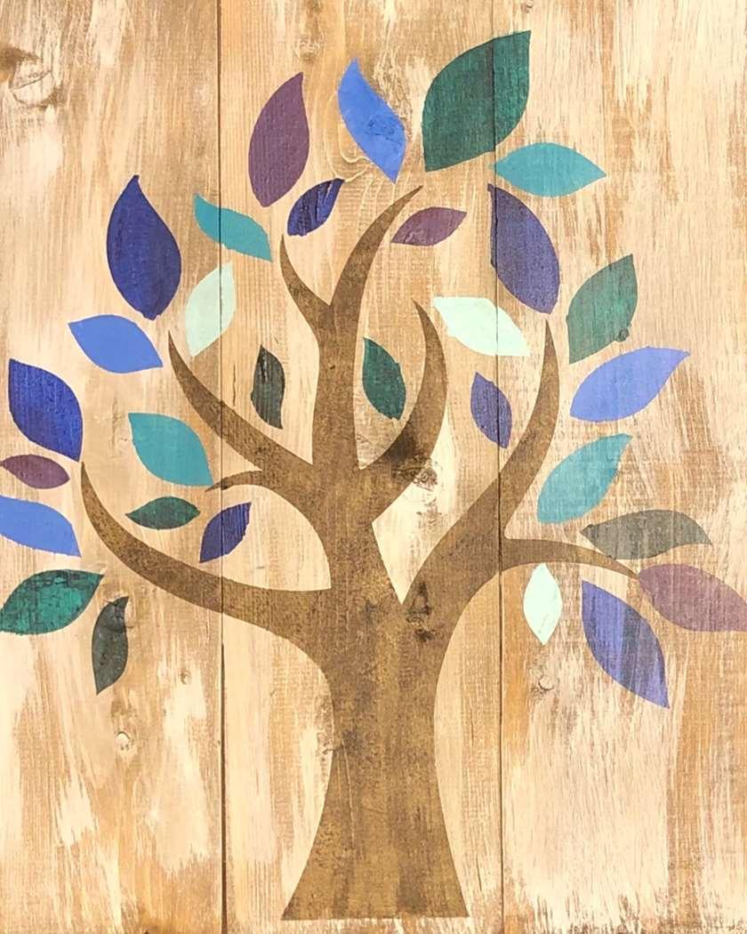 Vino & Vision: Vision Tree Board - In studio or Virtual