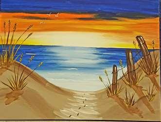 Walk on Sunset Beach