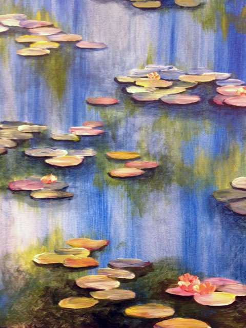 Water Lilies at Morning - In Studio Event - Limited Seating Available