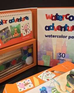 Watercolor Adventures by Pinot's Palette