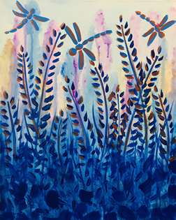 Watercolor Meadow