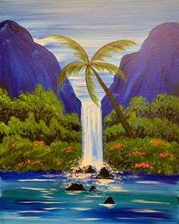 Waterfall in Paradise