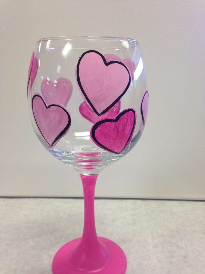 Glass Class - Hearts