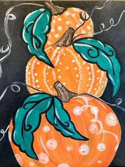 Whimsical Pumpkins