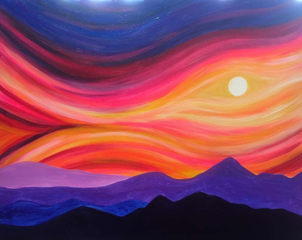 Whimsical Sunset