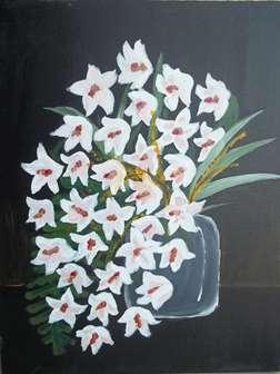 White In Bloom