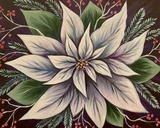White Poinsettia
