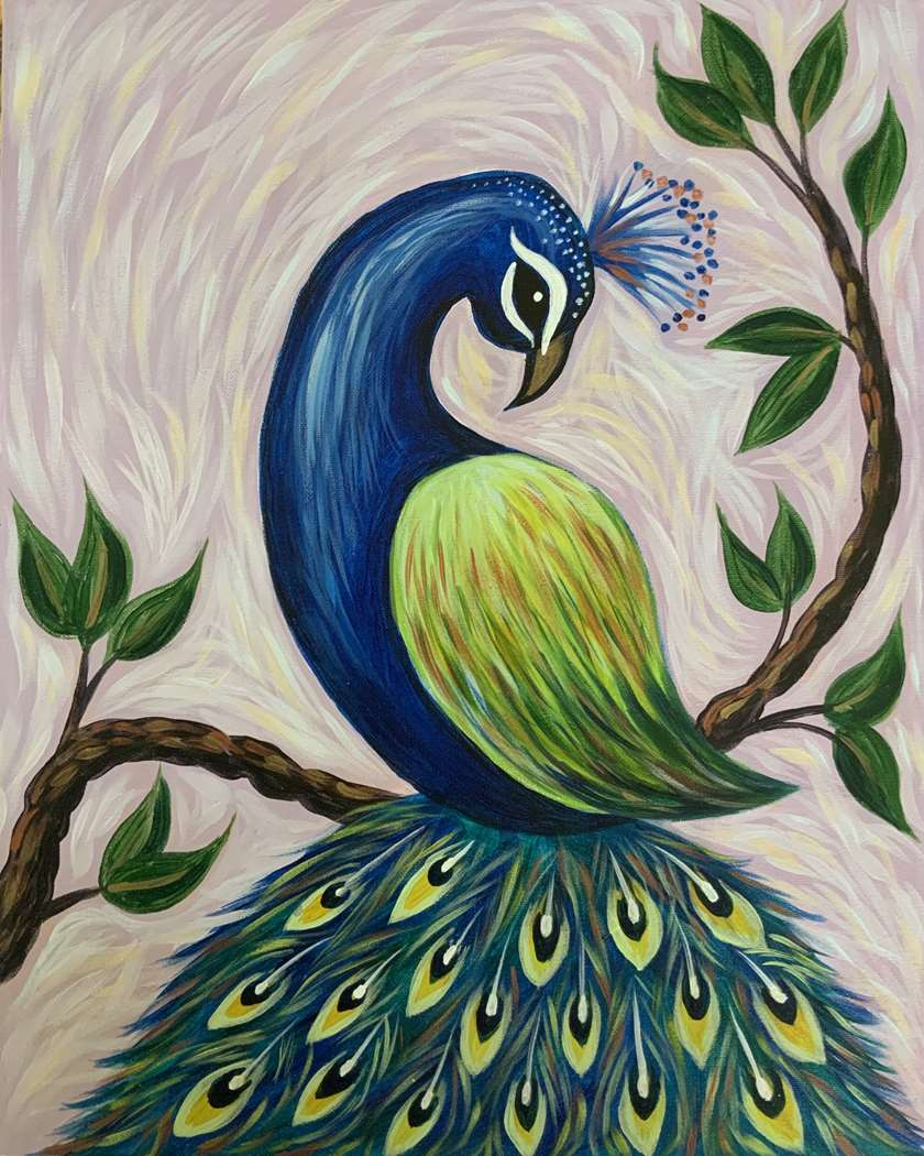 Wild Bird of Paradise- In Studio Event - Limited Seating Available