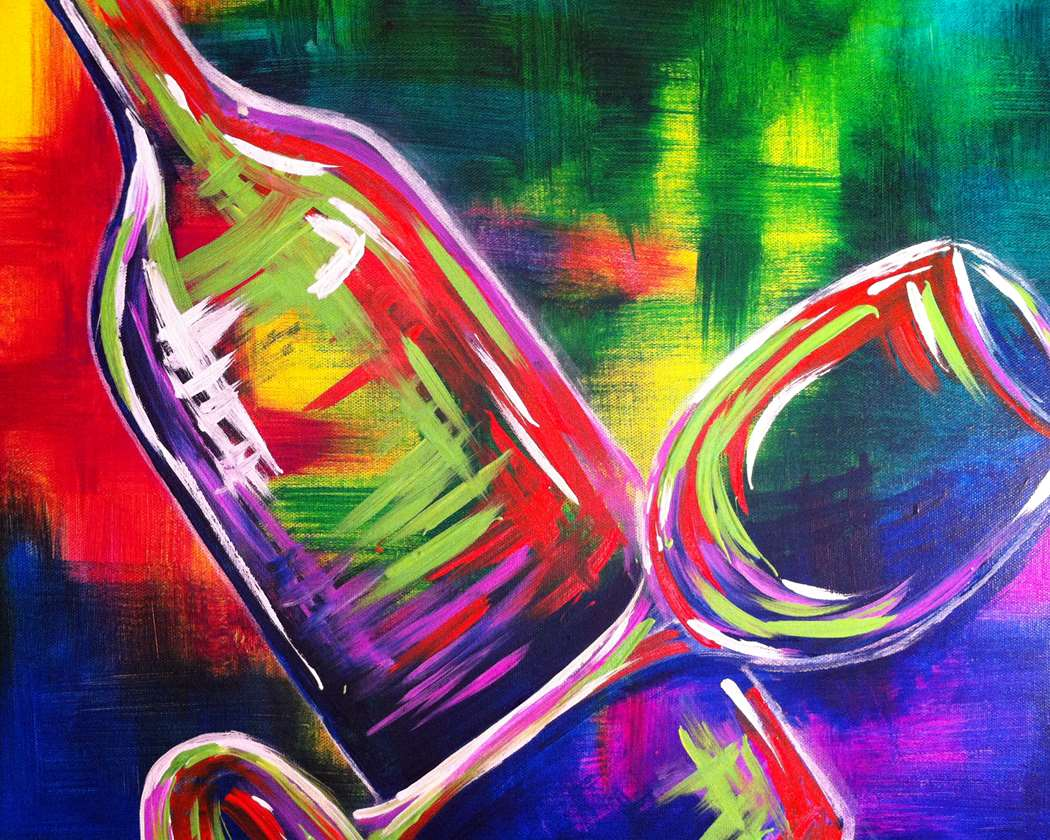 HYBRID (in studio + virtual painters)