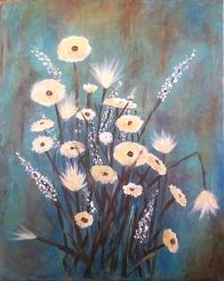 Wildflowers Azul