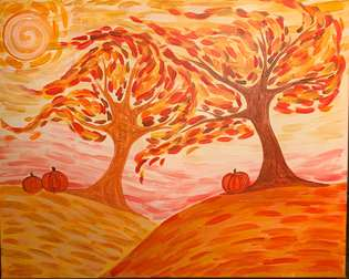 Windswept Autumn