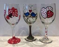 Wine Glass Love