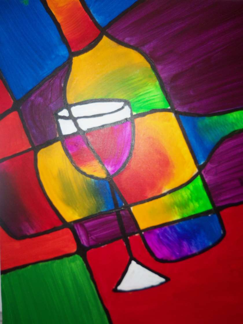 Wine Stained Glass