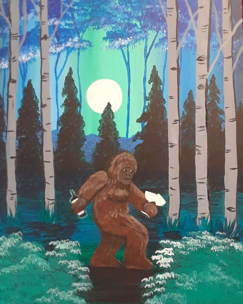 IN STUDIO CLASS: WINO SASQUATCH - LIMITED SEATING