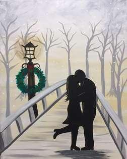 Winter Foot Poppin Kiss