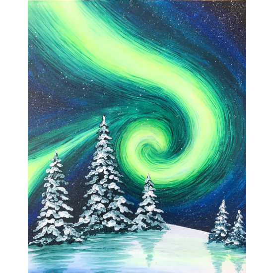 IN STUDIO CLASS: WINTER LIGHTS - LIMITED SEATING