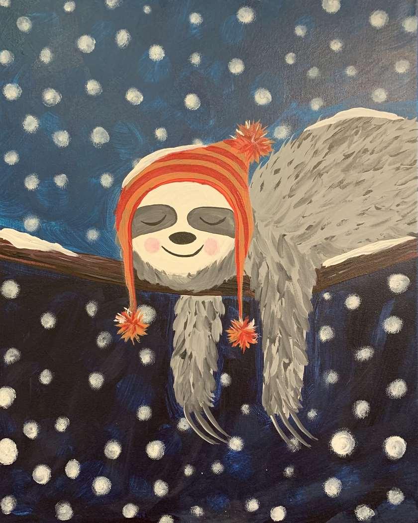 Winter Sloth
