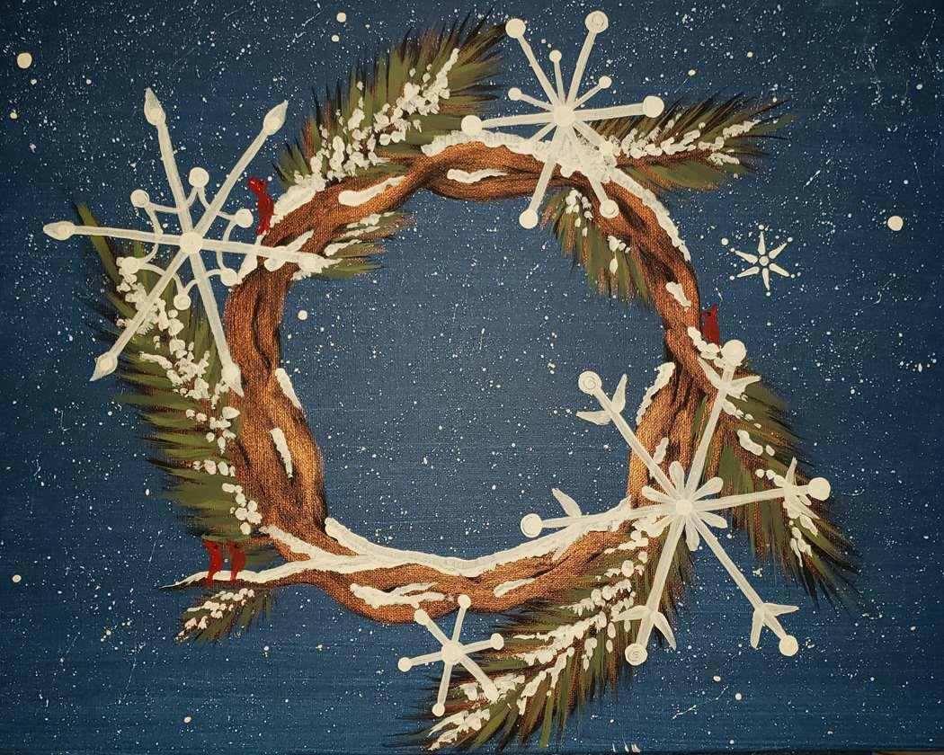 Winter Welcome Wreath
