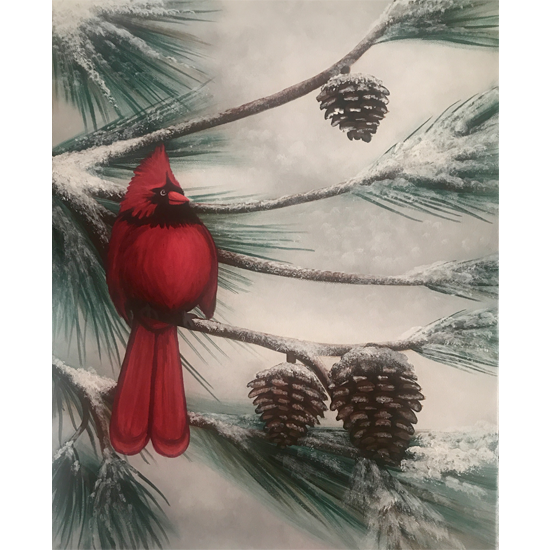 IN STUDIO CLASS: WINTER WONDERBIRD - LIMITED SEATING