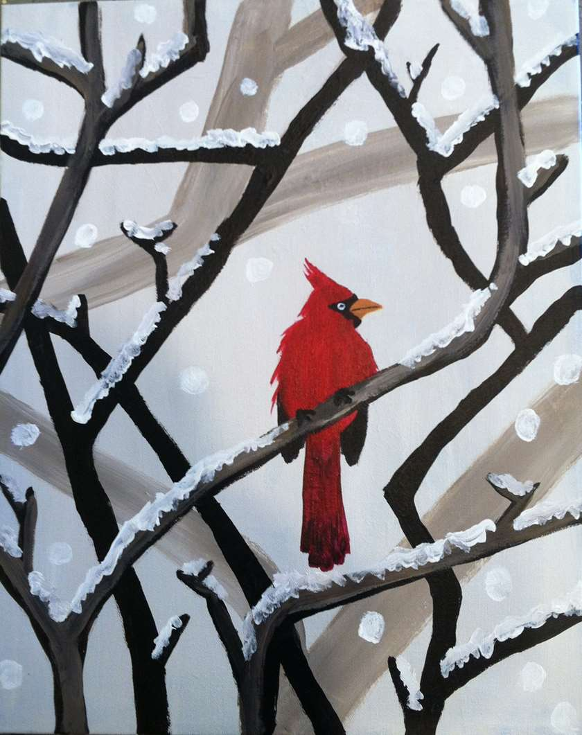 Winter's Cardinal