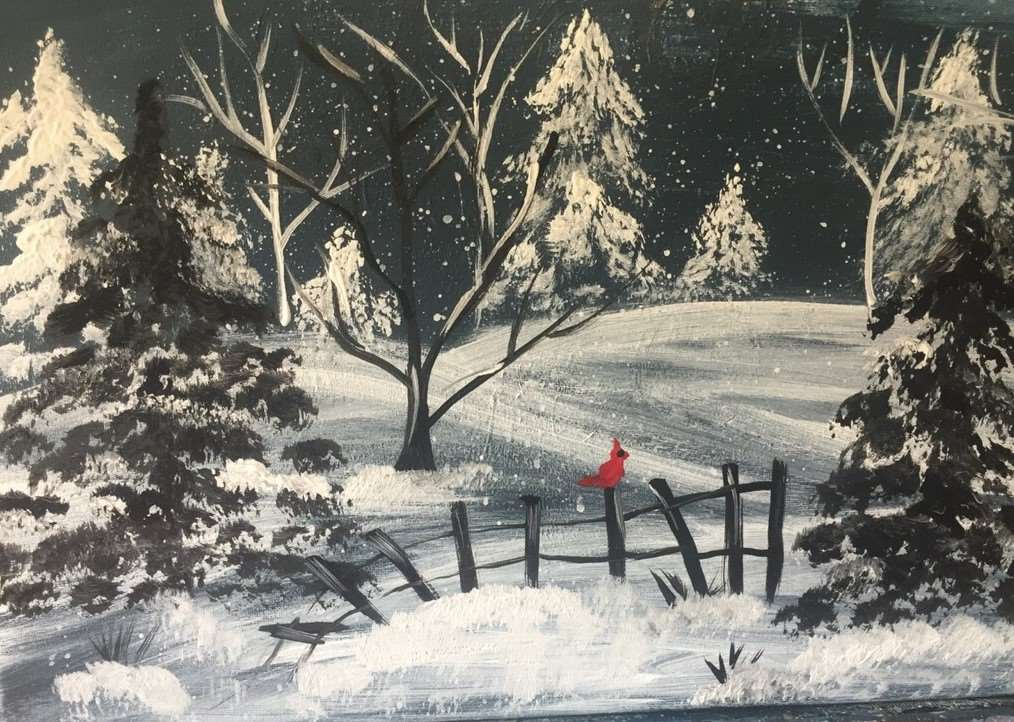 A Meadow in Winter