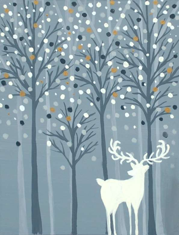Wishful Snowfall - In Studio Event - Limited Seating Available