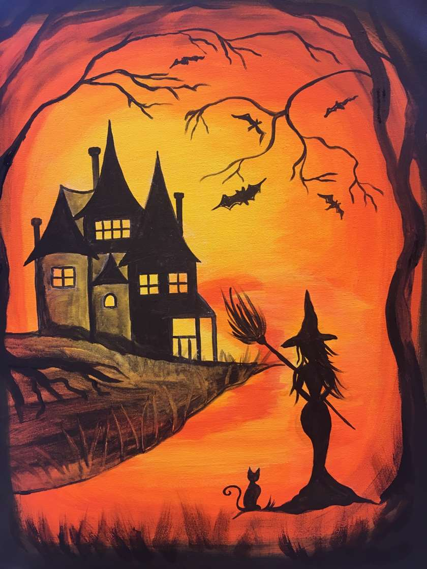 """""""Witch Way to Pinot's"""" Enjoy our spooky drinks this night!"""