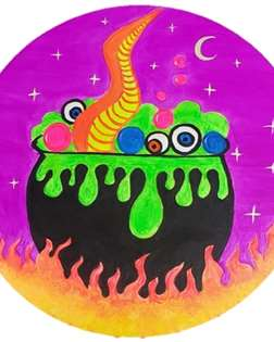 Witches Brew Blacklight